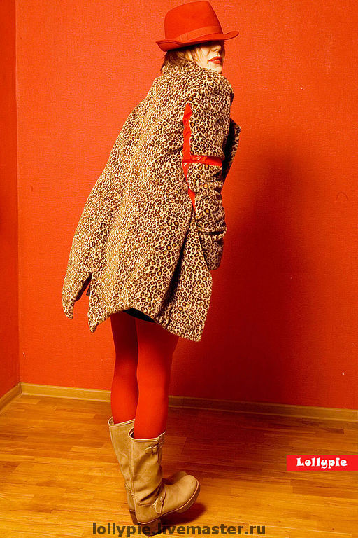 Fur Coat Leopard, Fur Coats, Moscow,  Фото №1