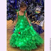 Работы для детей, ручной работы. Ярмарка Мастеров - ручная работа Праздничное платье. Например, костюм Ёлочки.. Handmade.