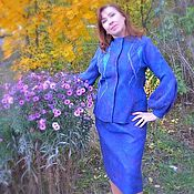 Одежда handmade. Livemaster - original item Suit felted