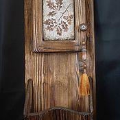 """Для дома и интерьера ручной работы. Ярмарка Мастеров - ручная работа Ключница """"Дубок"""". Handmade."""