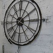 Большие часы-компас