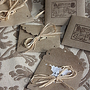 Дизайн и реклама handmade. Livemaster - original item Laced envelopes for cards, tags, labels. Handmade.