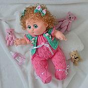 """Куклы и игрушки ручной работы. Ярмарка Мастеров - ручная работа Кукла-пупс вязаная """"Лизонька"""". Handmade."""