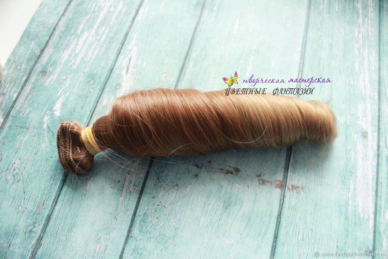 """Шитье ручной работы. Ярмарка Мастеров - ручная работа. Купить Трессы волосы """"Омбре русый"""" 12-20 см (1 метр). Handmade."""