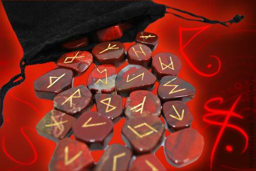 Гадания ручной работы. Ярмарка Мастеров - ручная работа. Купить Каменные Руна Красная яшма. Handmade. Бордовый, гадание, предсказание