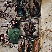 Подарки к праздникам ручной работы. Ярмарка Мастеров - ручная работа Кубики мужские - под заказ. Handmade.