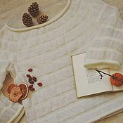 """Одежда ручной работы. Ярмарка Мастеров - ручная работа Вязаный джемпер """"Адажио"""". Handmade."""