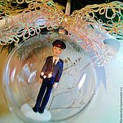 """Подарки к праздникам ручной работы. Ярмарка Мастеров - ручная работа шар """" Лейтенант"""". Handmade."""