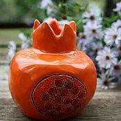 Вазы ручной работы. Ярмарка Мастеров - ручная работа Гранат  ваза. Керамика. Ручная работа. Handmade.