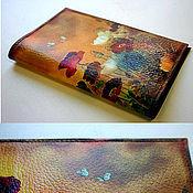Сумки и аксессуары handmade. Livemaster - original item Passport cover Chinese Poppies. Handmade.