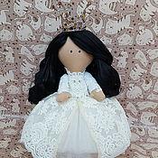 """Тыквоголовка ручной работы. Ярмарка Мастеров - ручная работа Интерьерная куколка """"принцесса"""". Handmade."""