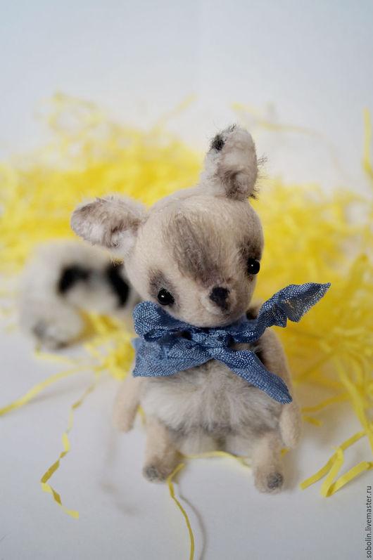 """Мишки Тедди ручной работы. Ярмарка Мастеров - ручная работа. Купить """"Cute friends"""" wolf cat - Волчок. Handmade. Комбинированный"""