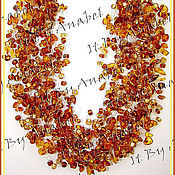Украшения ручной работы. Ярмарка Мастеров - ручная работа Колье из янтаря В Предвкушении Лета. Handmade.