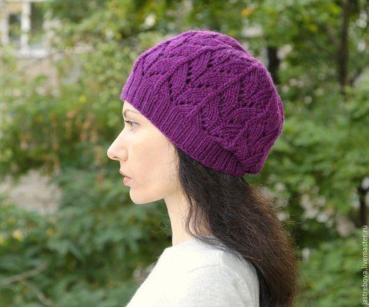 вязаная шапка шапка вязаная женская весенняя шапка шапка для весны