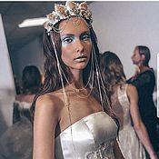 Свадебный салон handmade. Livemaster - original item Crown mermaid. Crown of shells.. Handmade.