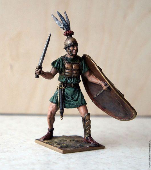 Миниатюра ручной работы. Ярмарка Мастеров - ручная работа. Купить Римский легионер, 3-2 вв. до н.э.. Handmade.