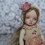 Куклы и игрушки ручной работы. Ярмарка Мастеров - ручная работа Люси фарфоровая шарнирная кукла. Handmade.