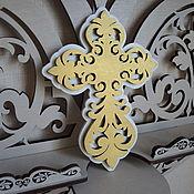 Для дома и интерьера handmade. Livemaster - original item The cross wall for the red corner. Handmade.