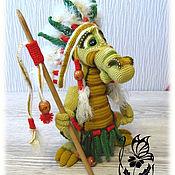 Великий вождь - Хотото(готовая игрушка)