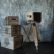 Дизайн и реклама handmade. Livemaster - original item Vintage camera, format camera, layout.. Handmade.