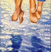 """Картины и панно ручной работы. Ярмарка Мастеров - ручная работа Картина """"Каникулы"""". Handmade."""