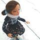 Коллекционные куклы ручной работы. Авторская кукла Юлька фигуристка - девочка на коньках. Зима. Зимнее настроение. Елисеева Алена Куклы и Игрушки. Ярмарка Мастеров