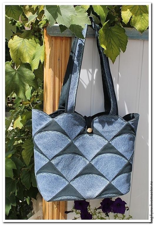 """Женские сумки ручной работы. Ярмарка Мастеров - ручная работа. Купить Сумка """"Корзинка"""" в стиле лоскутного шитья. Handmade."""