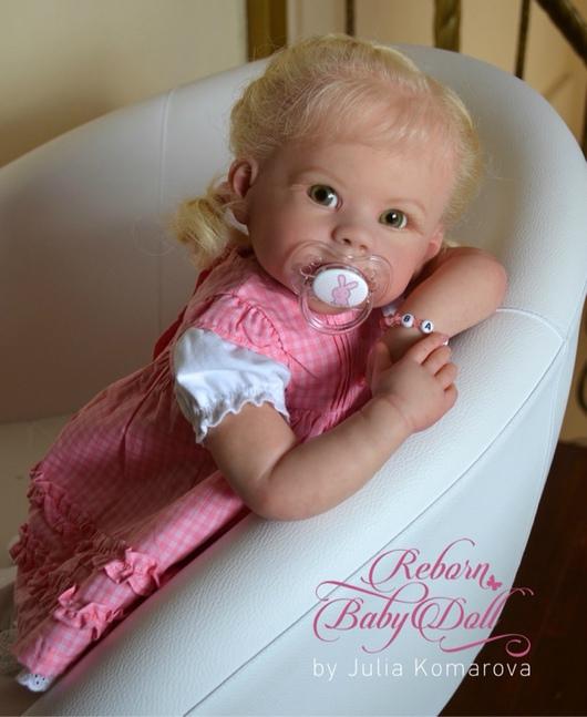 Куклы-младенцы и reborn ручной работы. Ярмарка Мастеров - ручная работа. Купить Анечка. Handmade. Бежевый, стекло ручной работы