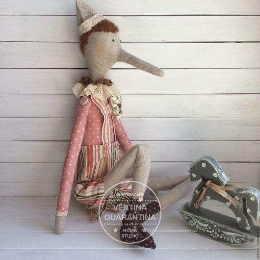 """Куклы Тильды ручной работы. Ярмарка Мастеров - ручная работа. Купить Буратиныч """"Розовая нежность"""". Handmade. Кукла Тильда, тильда"""