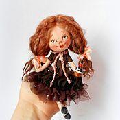 Куклы и игрушки ручной работы. Ярмарка Мастеров - ручная работа Чудо на ладошке С Пироженкой. Handmade.