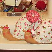 Куклы и игрушки ручной работы. Ярмарка Мастеров - ручная работа Пара Летних Улиток. Handmade.