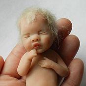 Куклы и игрушки ручной работы. Ярмарка Мастеров - ручная работа Кукла-малышка из полимерной глины. Handmade.