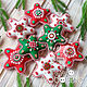 Stars from felt. gift 2020. Christmas decorations. made with love. My Livemaster. Фото №4