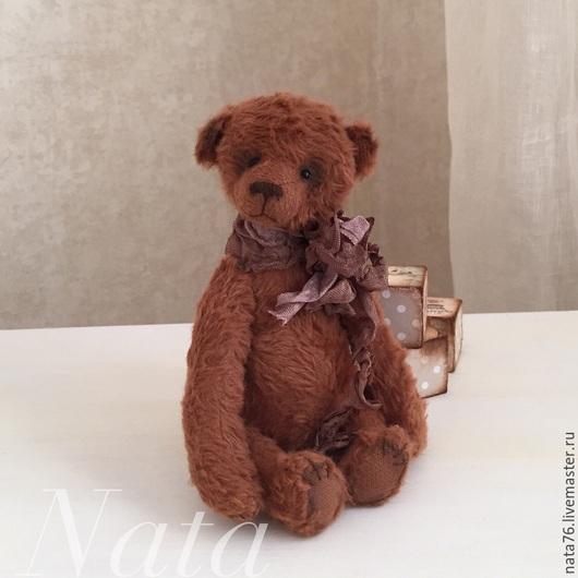 Мишки Тедди ручной работы. Ярмарка Мастеров - ручная работа. Купить Миниатюрный медвежонок Гоша. Handmade. Рыжий, мини мишки