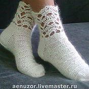 Аксессуары handmade. Livemaster - original item socks Elegant gift. Handmade.