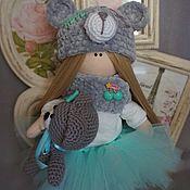 Куклы и пупсы ручной работы. Ярмарка Мастеров - ручная работа Куколка мишка. Handmade.