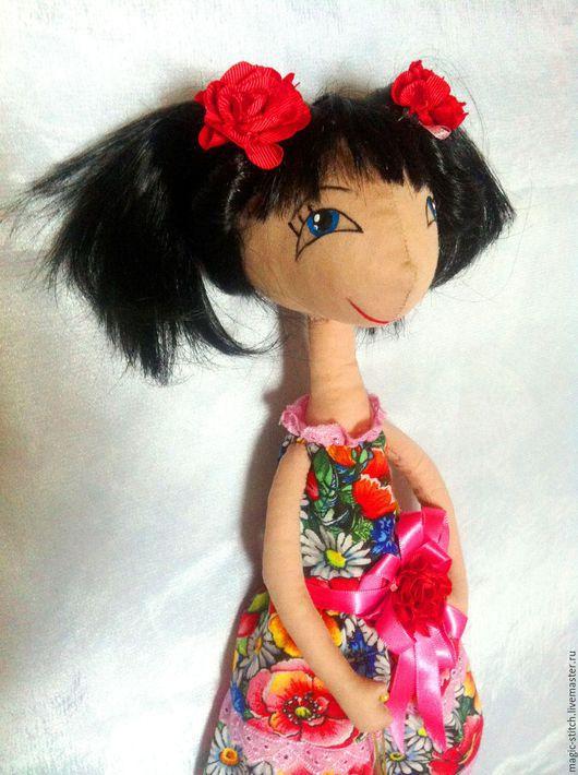 Куклы тыквоголовки ручной работы. Ярмарка Мастеров - ручная работа. Купить Куколка выпускница. Handmade. Кукла ручной работы