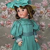 Одежда для кукол ручной работы. Ярмарка Мастеров - ручная работа Французское платье для антикварной куклы из шелка или бархата. Handmade.