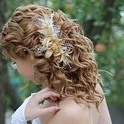 Свадебный салон ручной работы. Ярмарка Мастеров - ручная работа Парик со свадебной причёской. Handmade.