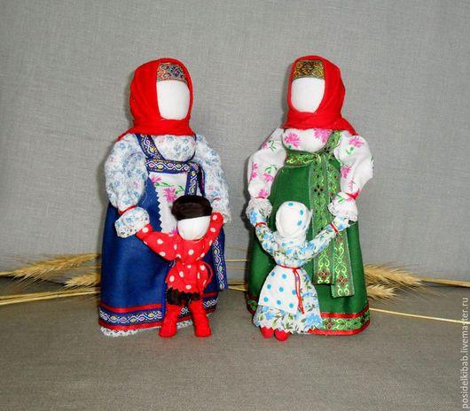Народные куклы ручной работы. Ярмарка Мастеров - ручная работа. Купить Народная кукла Ведучка-ведущая по жизни.. Handmade. Разноцветный