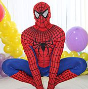 Одежда handmade. Livemaster - original item Suit for animators Spiderman. Handmade.