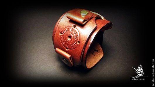 Часы ручной работы. Ярмарка Мастеров - ручная работа. Купить Ремешок ручной авторской работы для наручных часов.. Handmade. Коричневый