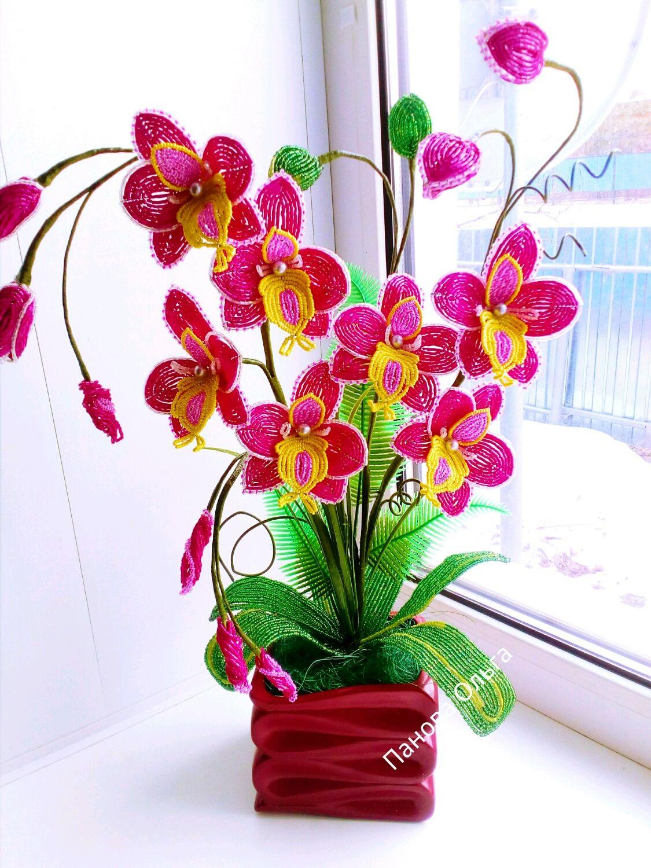можете картинка орхидея из бисера способы нанесения рисунка