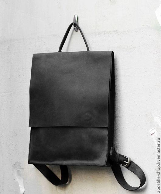 Рюкзаки ручной работы. Ярмарка Мастеров - ручная работа. Купить Рюкзак GoTravel Vintage 4.0 Black. Handmade. Черный