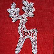 Сувениры и подарки handmade. Livemaster - original item Christmas decorations: Christmas deer.. Handmade.