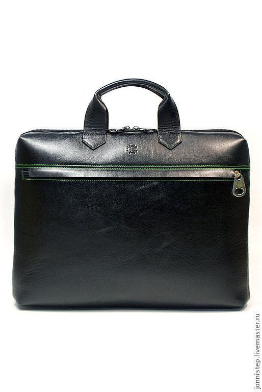 """Мужские сумки ручной работы. Ярмарка Мастеров - ручная работа. Купить Мужская повседневная деловая сумка """"Matter Gr"""". Handmade."""