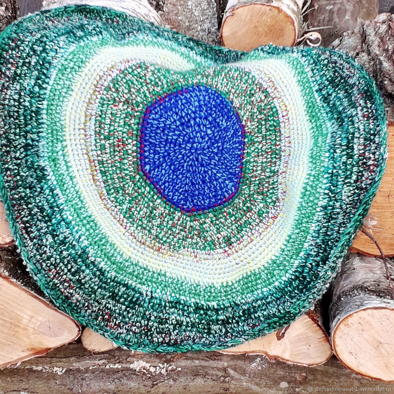 Crocheted rug ' Emerald', Floor mats, Kaliningrad,  Фото №1