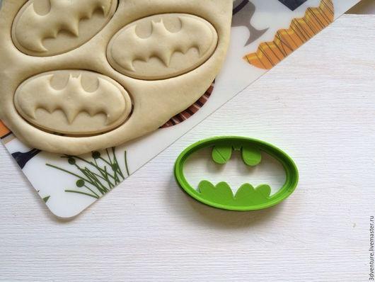 Кухня ручной работы. Ярмарка Мастеров - ручная работа. Купить Форма для печенья Бэтмен. Handmade. Разноцветный, формочка для печенья