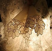 Аксессуары ручной работы. Ярмарка Мастеров - ручная работа дамский носовой платочек. Handmade.