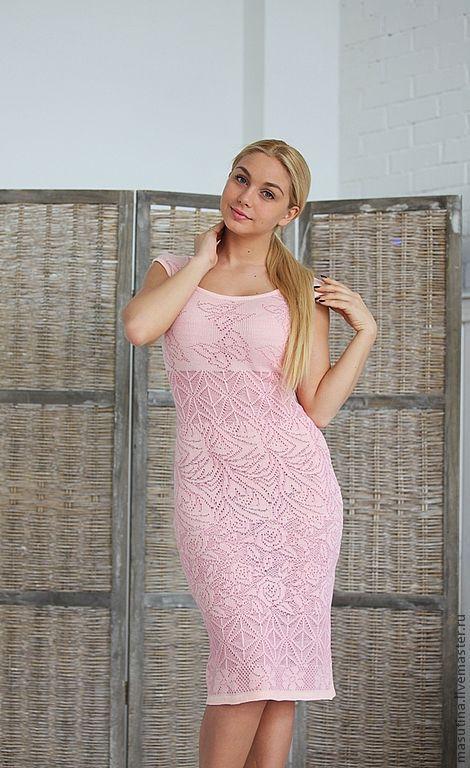 """Платья ручной работы. Ярмарка Мастеров - ручная работа. Купить Платье """"Rosary"""". Handmade. Розовый, платье"""